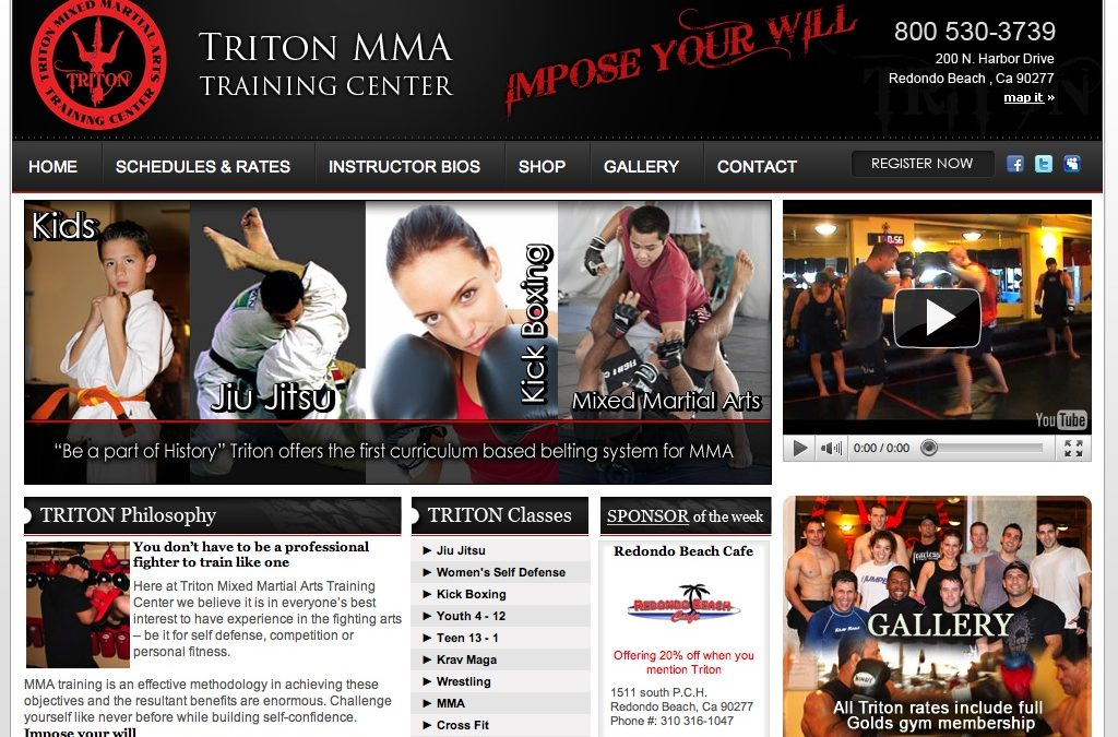 Triton MMA Training Center